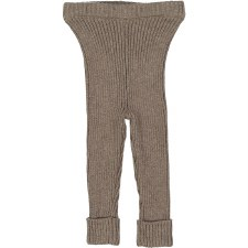 Analogie Rib Knit Leggings Oat