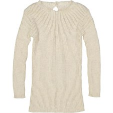 Analogie Rib Knit Sweater Ecru