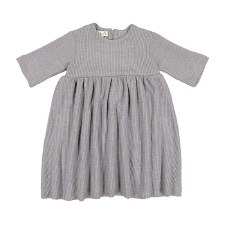 Cable Knit Dress Grey 4