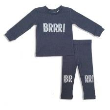 BRR Baby Set Blue 12M
