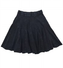 Ribbed Skirt Dark 16