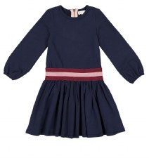 Dress W/ Band Navy 12