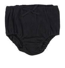 Lil Legs Rib Bloomers Black 12
