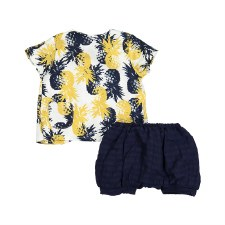 Pineapple Baby Set Navy 18M