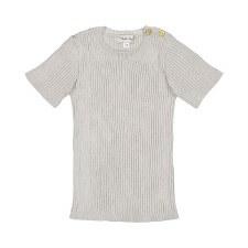 Analogie S/S Knit Top Grey 4T