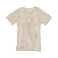 Analogie S/S Knit Top Sand 9M