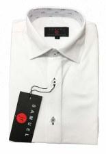 White Shirt W/ Colored Trim Bl