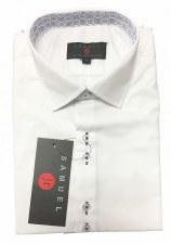White S/S Shirt W/ Trim White/
