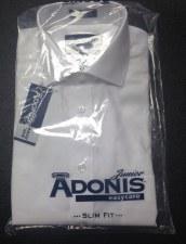 L/S Slim Shirt White 14
