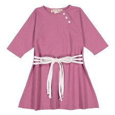 Dress W/ Ropes Orchid 8