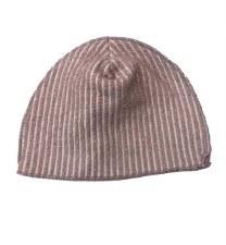 Ribbed Metallic Hat Mauve 0-3M