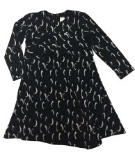 Dress W/ Ruffle Black 4