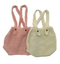 Knit Bloomers Blush 12M
