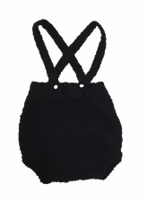 Knit Bloomers Black 18M