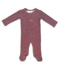 Ribbed Stretchie Wine 3M