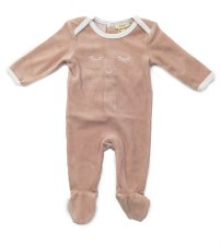 Velour Blink Stretchie Pink 1M