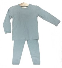 Textured Cherry PJ Blue 18M