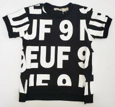 S/S Neuf Tshirt Black/White 5