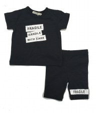 Frabile Legging Set Black 24M