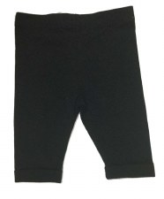 Cotton Capris Black 6M