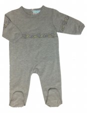Stretchie W/ Bears Grey 1M