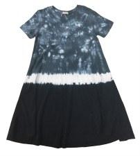 Tie Dye Dress Blue 2