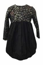 Bubble Dress W/ Print Multi 14