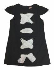 Criss Cross Dress Black 4