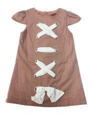 Criss Cross Dress Mauve 4