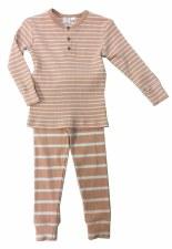 Striped Ribbed PJ Pink 7