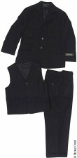 Boys 3pc Suit Navy-14-