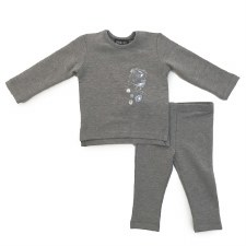 YoYo Baby Set Grey 6M