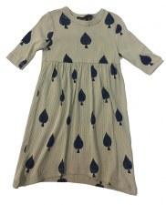 Spade Print Dress Taupe 2