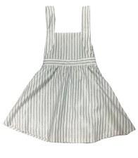 Metallic Striped Jumper White
