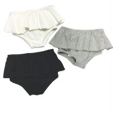 Bloomers W/ Ruffle Black 36M
