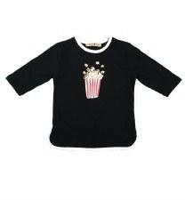 Popcorn Tshirt Black 6