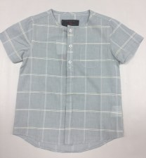 Box Print S/S Shirt Grey 8