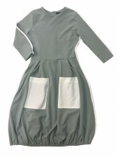 Teen Bubble Dress W/ Pockets G