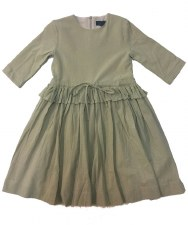 Dress W/ Drawstring Taupe 3