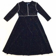 Velour Robe W/ Piping Multi 3