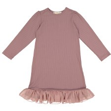 Rib Nightgown Mauve 6