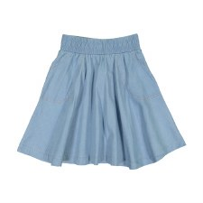 Denim Circle Skirt Light 5