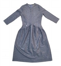 Teen Dress w/ Shimmer Stripes