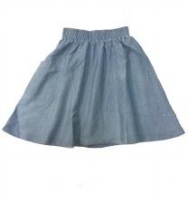 Denim Pocket Skirt Light 5