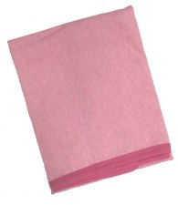 Heather Receiving Blanket Pink