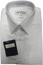 L/S Cotton Shirt White-14-