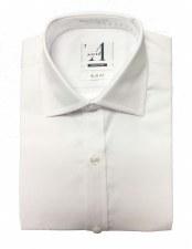 L/S Slim Shirt White 10