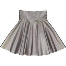 Metallic Skirt Silver 6