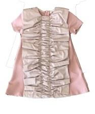 Dress W/ Ruffle Blush 12
