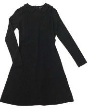 Teen Dress W/ Collar Black L(2